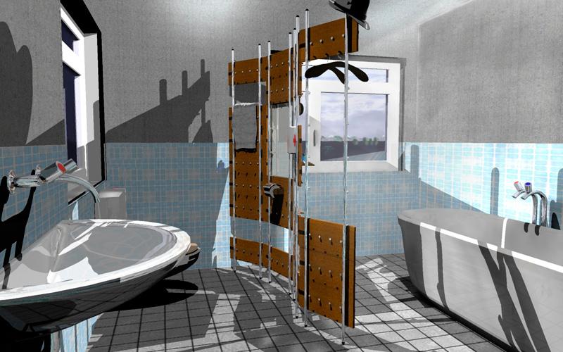 Garderobe Raumtrenner Funktionswand Design System Handtuchhalter  Raumservice Sensible Roomservice W 45 Badezimmer Nassbereich Jonadesign Jona  Design Zürich